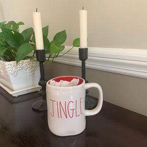 Rae Dunn Christmas/holiday JINGLE mug